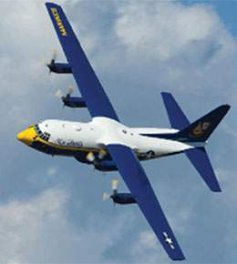 Fat Albert flying